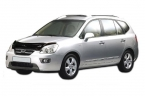 Дефлектор капота KIA Carens III 2006- hight