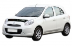 Дефлектор капота Nissan Micra, March K13 2010-2013 classic