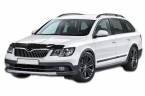 Дефлектор капота Skoda SuperB II 2013-2015