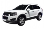 Дефлектор капота Chevrolet Captiva 2011- high