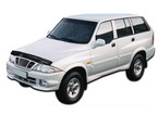 Дефлектор капота Ssang Yong Musso classic