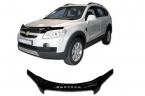 Дефлектор капота Chevrolet Captiva 2007-2011 high