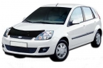 Дефлектор капота Ford Fiesta V 2001-2008 high