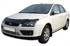Дефлектор капота Ford Focus II 2004-2008 high