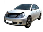 Дефлектор капота Toyota Allion I T240 2001-2007 high